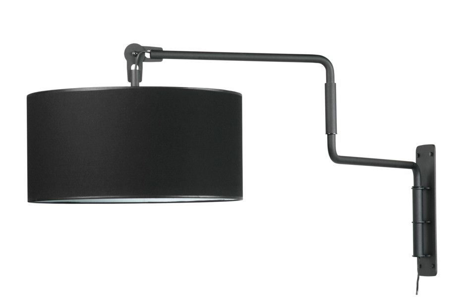 Black Swivel Light Wall