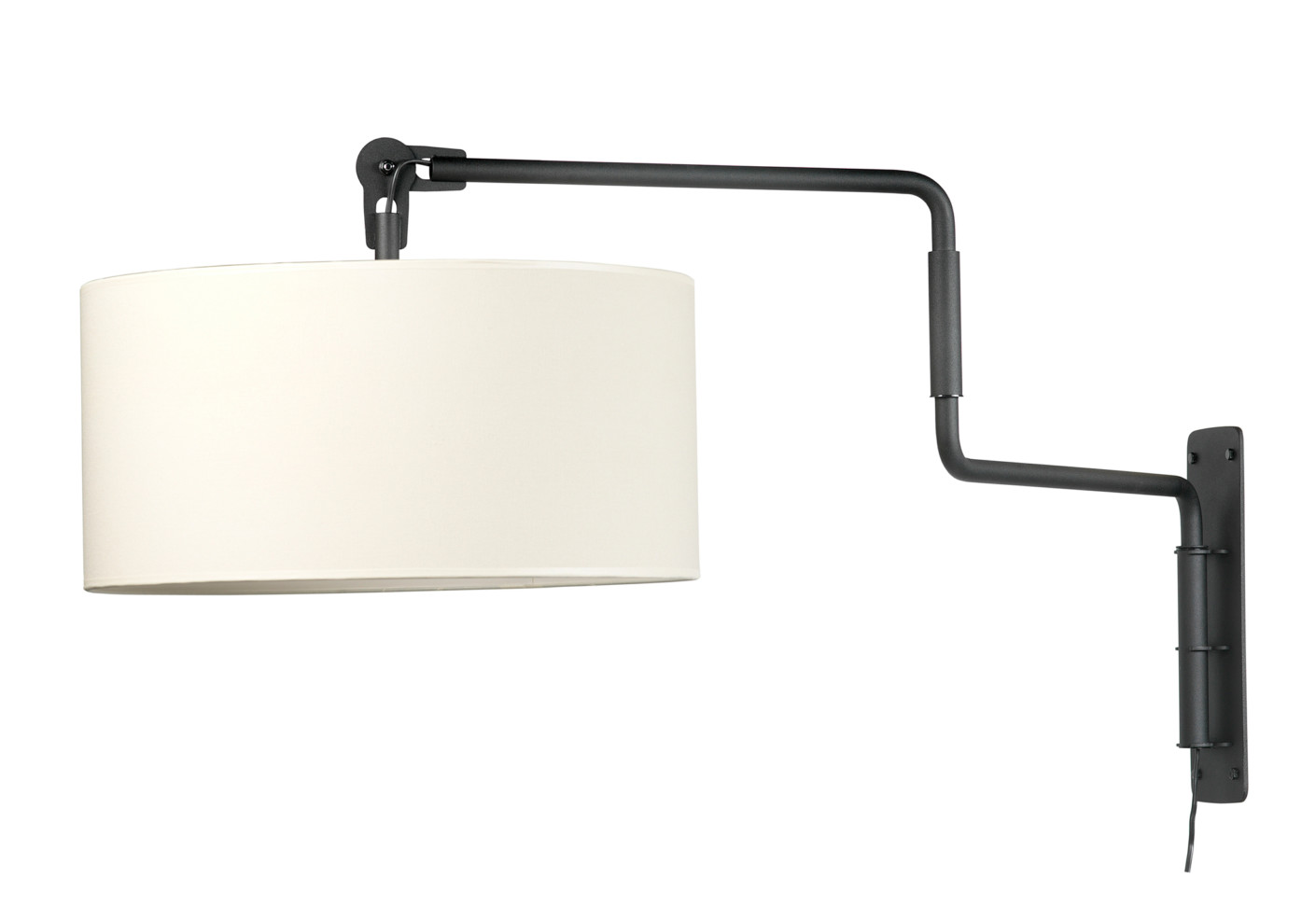 White swivel light wall by functionals stylepark for Lampadaire mural exterieur