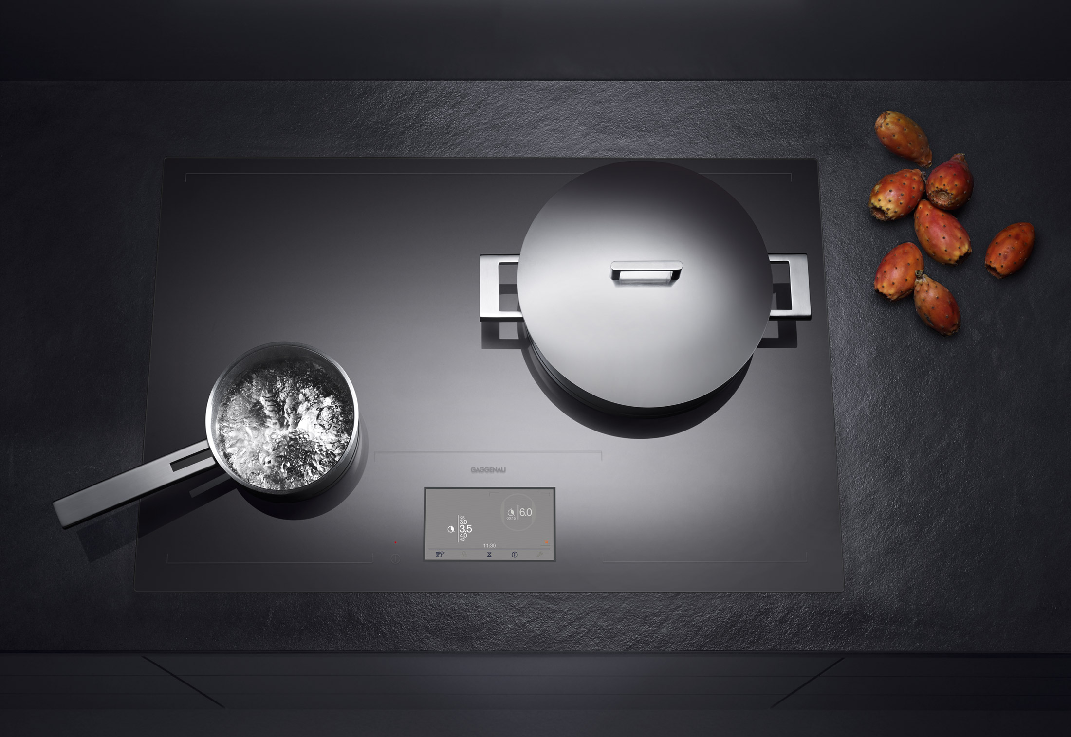 Cx 480 by gaggenau stylepark for Plaque induction zone libre