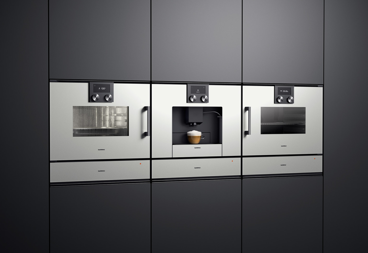 oven series 200 by gaggenau stylepark. Black Bedroom Furniture Sets. Home Design Ideas