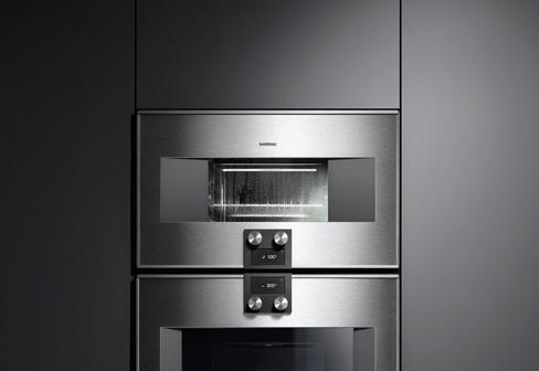 series 400 steam oven by gaggenau stylepark. Black Bedroom Furniture Sets. Home Design Ideas