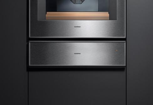 series 400 warmth drawer by gaggenau stylepark. Black Bedroom Furniture Sets. Home Design Ideas
