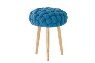 Knitted stools blue  by  Gandia Blasco