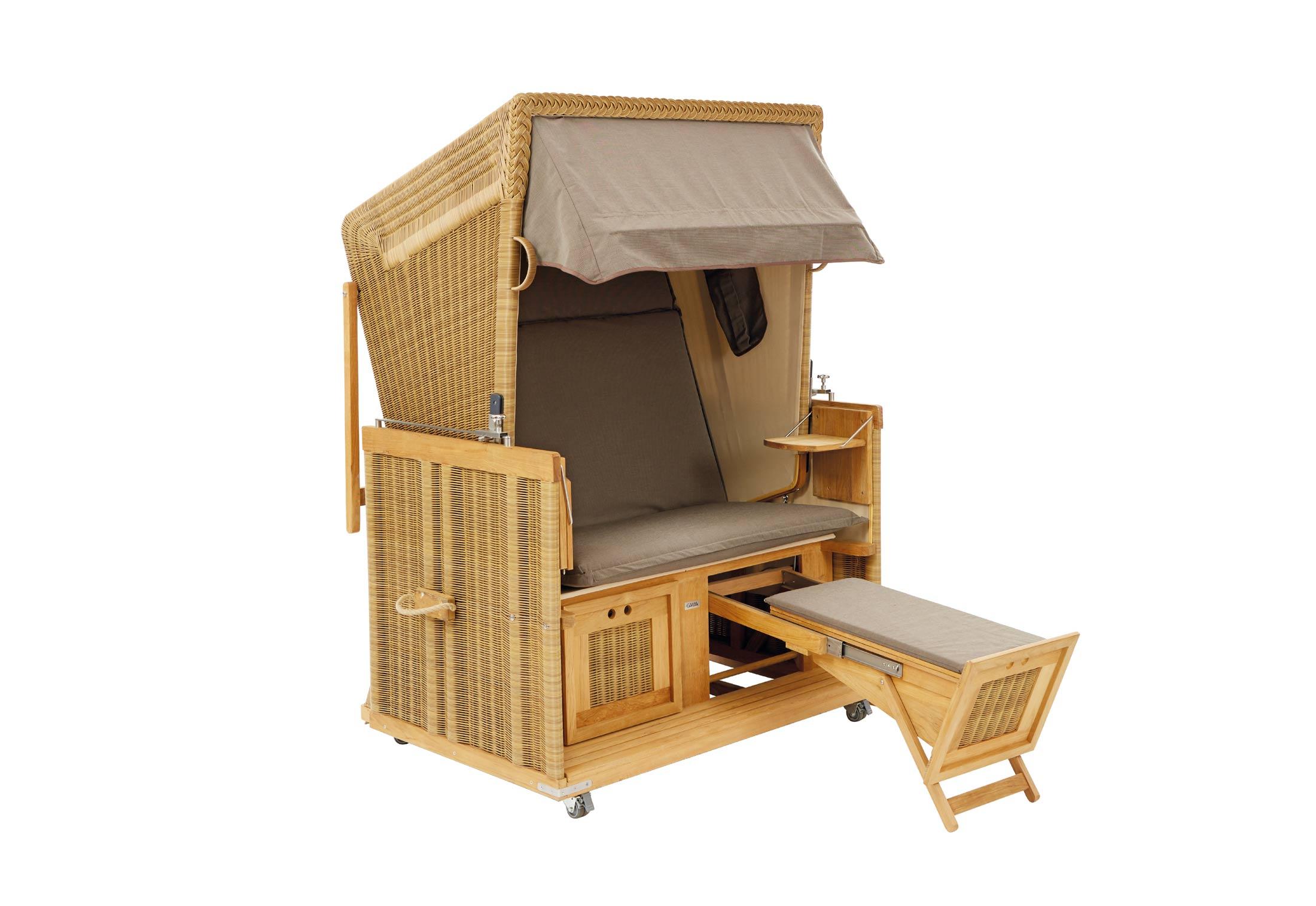 strandkorb maroon von garpa stylepark. Black Bedroom Furniture Sets. Home Design Ideas