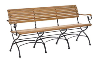 Fontenay Bench 130/180  by  Garpa