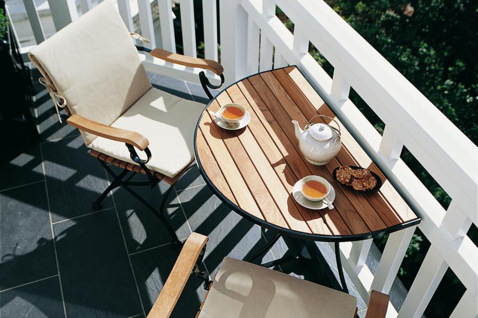 Fontenay Tisch halbrund
