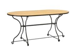 fontenay tisch halbrund von garpa stylepark. Black Bedroom Furniture Sets. Home Design Ideas