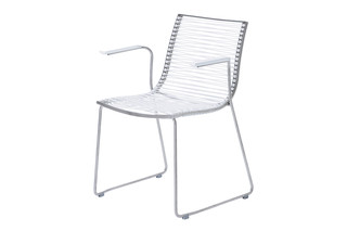 Pan chair with armrests  by  Garpa
