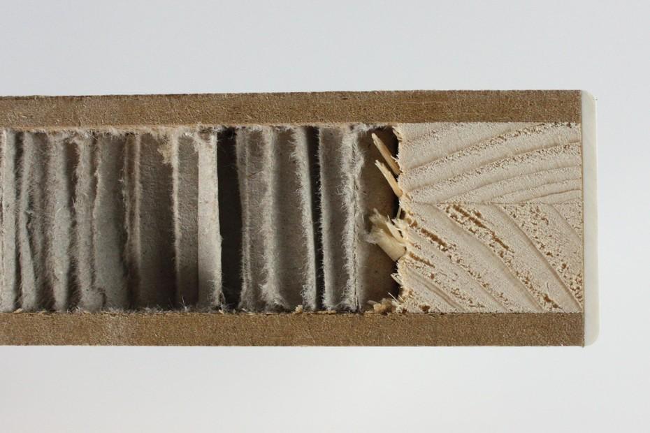 Beschichten │ Leichtbau Wabenplatte │ beschichtet mit Schichtstoff