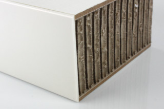 Coating │ Lightweight honeycomb│ two-sided laminated, border laminated  by  Georg Ackermann