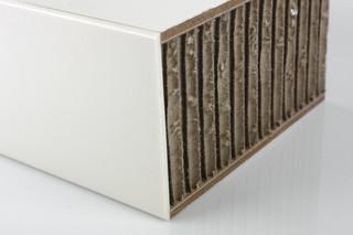 Beschichten │ Leichtbau Wabenplatte │ zweiseitig bekantet, beschichtet mit Schichtstoff  von  Georg Ackermann