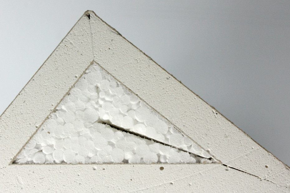 Dry construction │ panel of plaster fiber with Styrofoam
