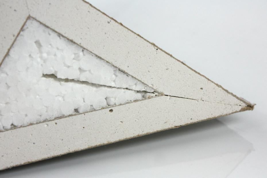 Trockenbau │ Gipsfaserplatte mit Styropor