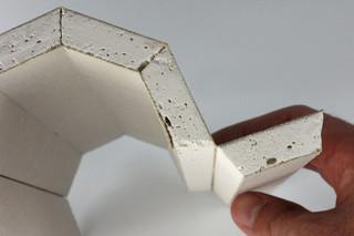 Dry construction │ panel of plaster fiber  by  Georg Ackermann