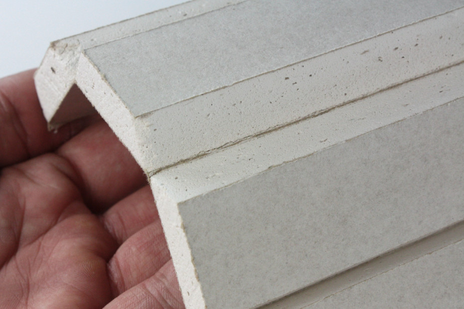Dry construction │ panel of plaster fiber