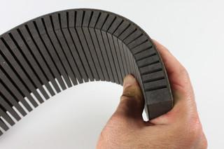 FlexformPlus schwarz │ Schichtstoff │ schwarz hochglanz  von  Georg Ackermann