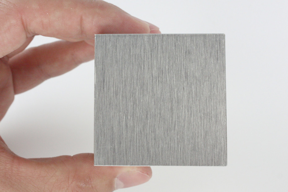 Fold technic │ MDF coated with Aluminium laminate