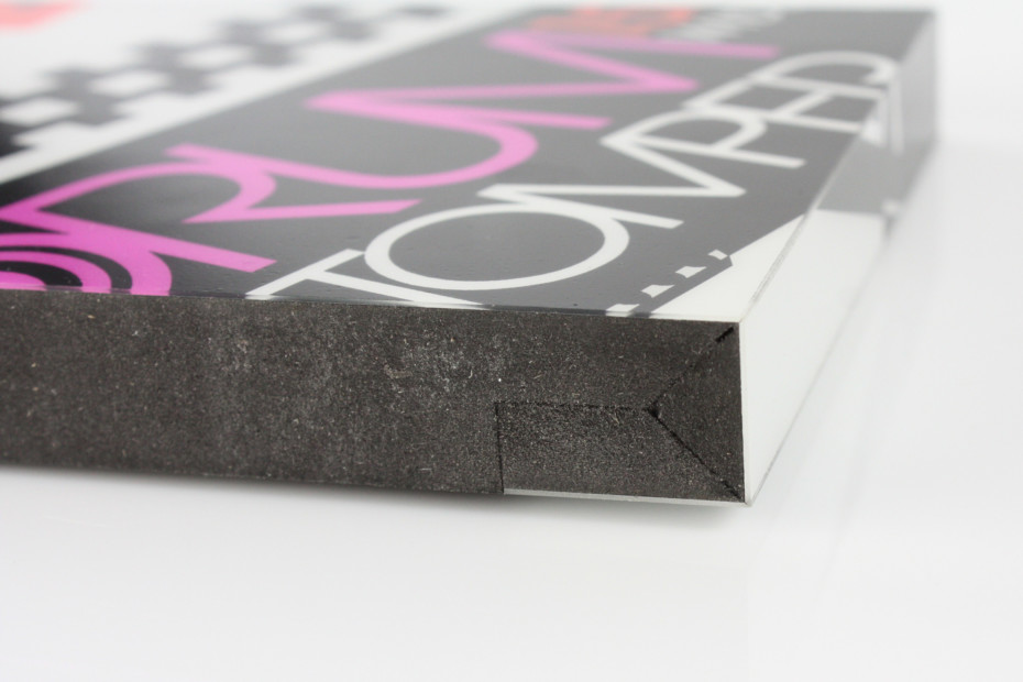 Fold technic │ MDF coated with foil
