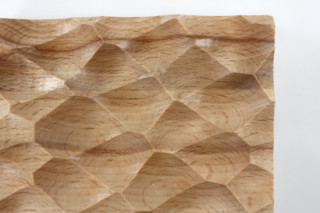 Wave panel │ beech wood │ adria  by  Georg Ackermann
