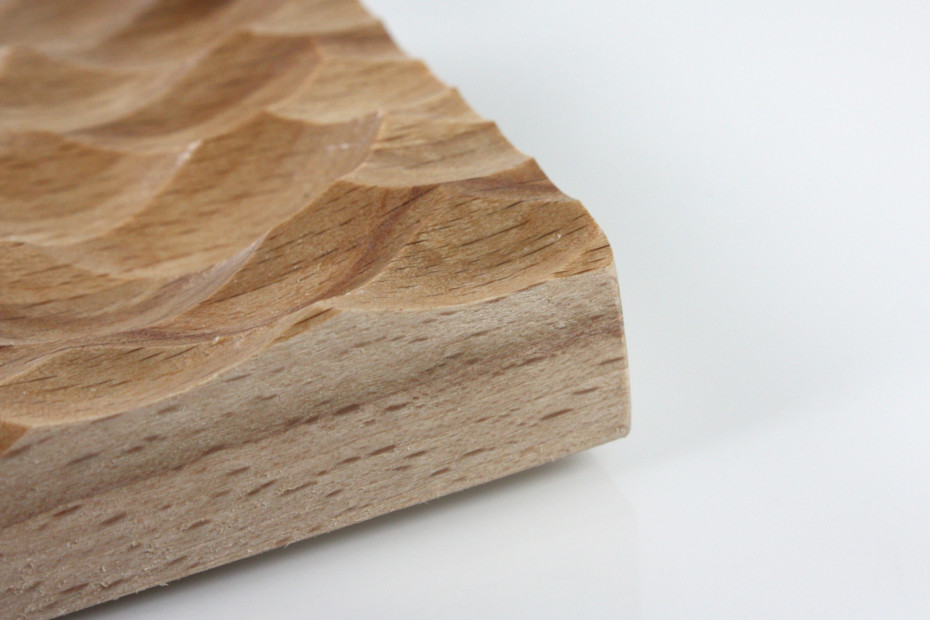 Wave panel │ beech wood │ adria