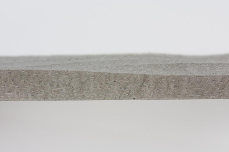 Wave panel │ plaster fibre board │ black sea