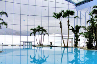 Revolving door, swimming pool Black Forest, Titisee-Neustadt  by  GEZE
