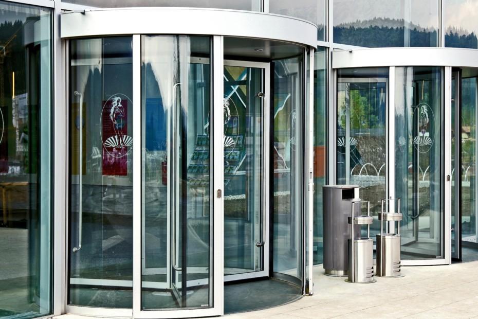 Revolving door, swimming pool Black Forest, Titisee-Neustadt