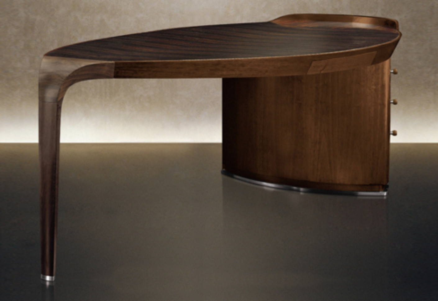 erasmo writing table by giorgetti