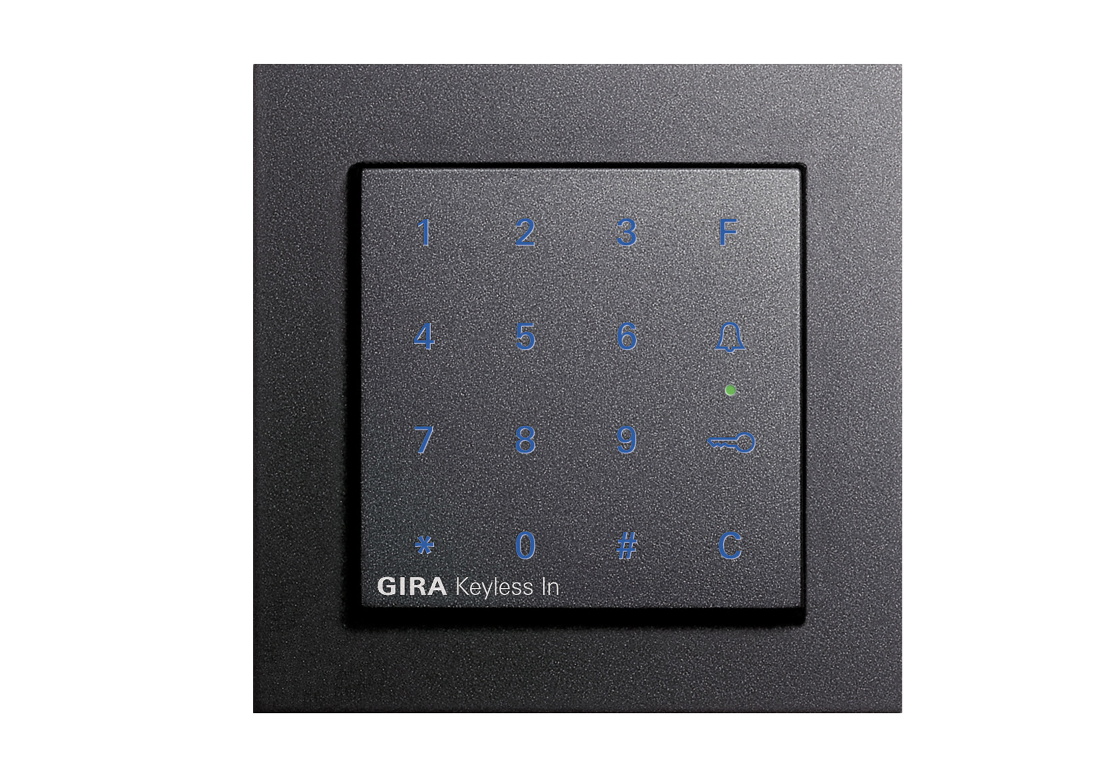 e2 keyless in codetastatur von gira stylepark. Black Bedroom Furniture Sets. Home Design Ideas