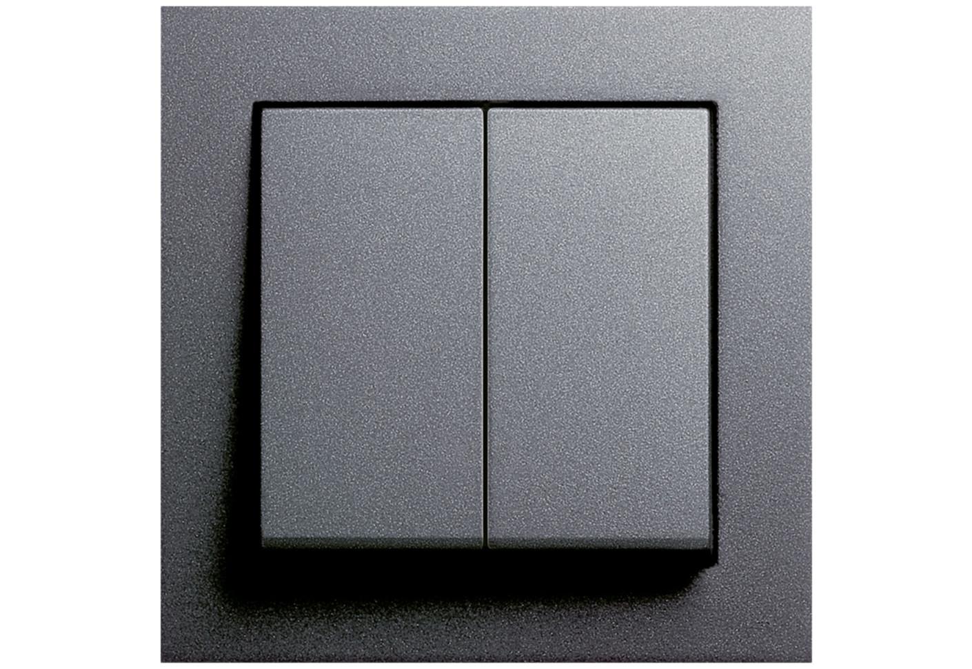 e2 series dimmer by gira stylepark. Black Bedroom Furniture Sets. Home Design Ideas