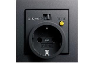 E2 Socket / FI-protection  by  Gira