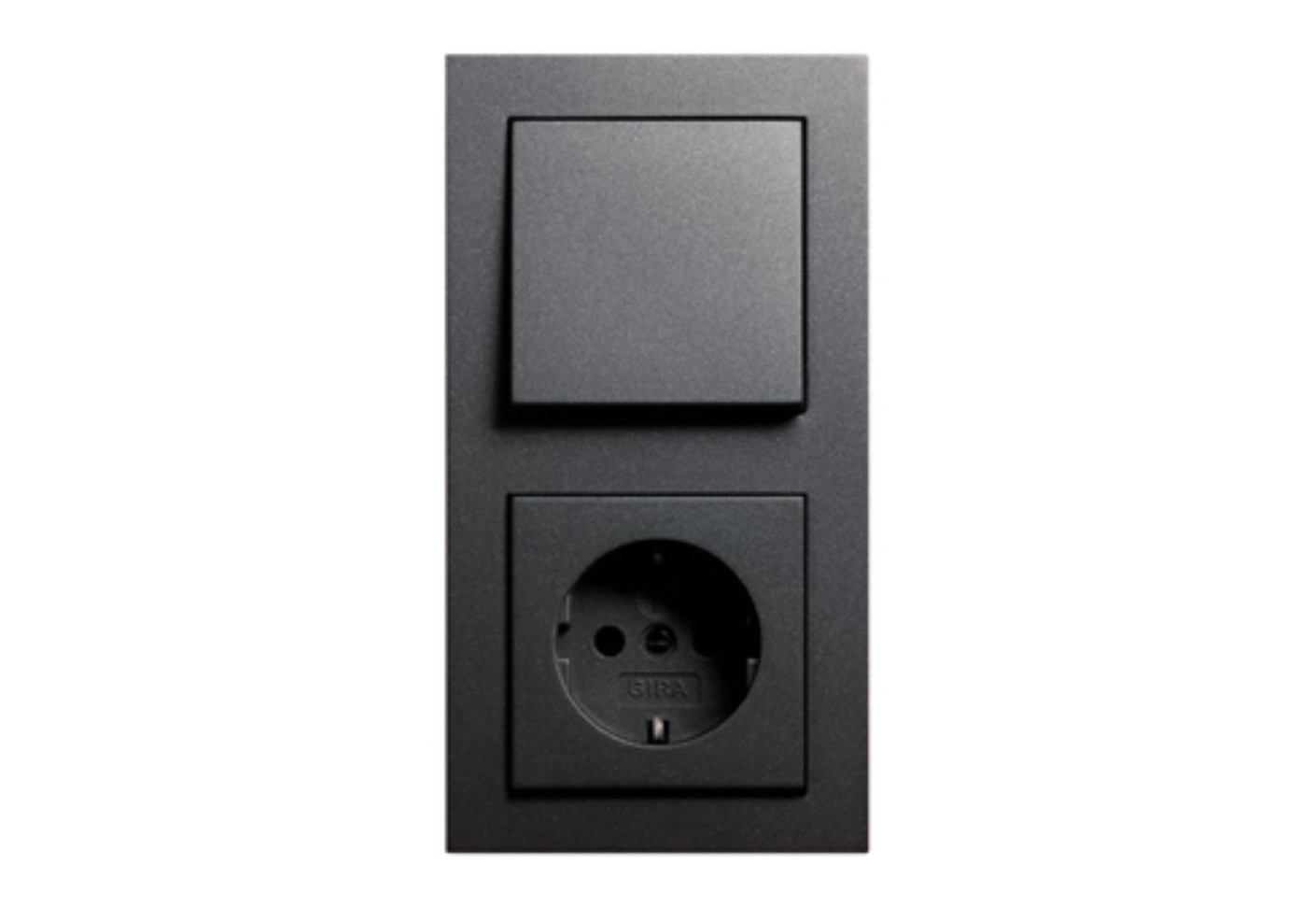 e2 switch socket by gira stylepark. Black Bedroom Furniture Sets. Home Design Ideas