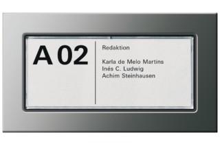 E22 door plate  by  Gira