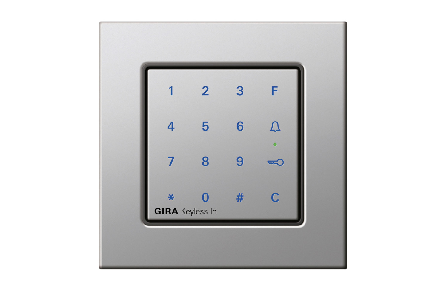 e22 keyless in keypad by gira stylepark. Black Bedroom Furniture Sets. Home Design Ideas