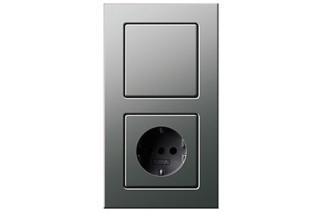 E22 push button control switch/socket  by  Gira