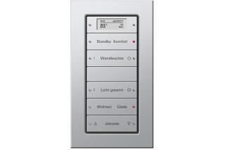 E22 Push button sensor 3plus, 5fold  by  Gira