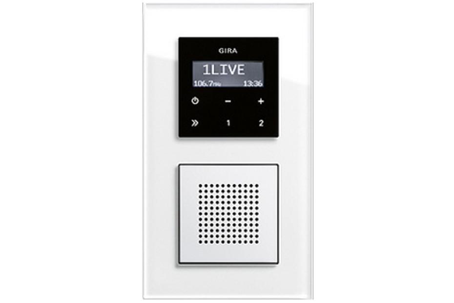 Esprit flush-mounted radio RDS