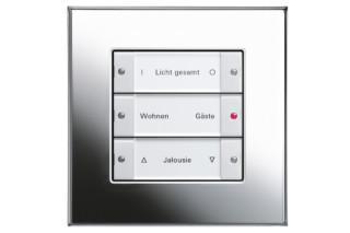 Esprit Tastsensor Basis 3, 3fach  von  Gira