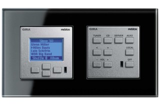 Esprit Revox control unit  by  Gira