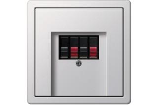 Flächenschalter Lautsprecher Anschlussdose  von  Gira