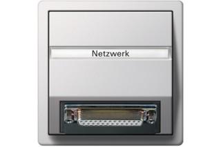 Flächenschalter Netzwerksteckdosen  von  Gira