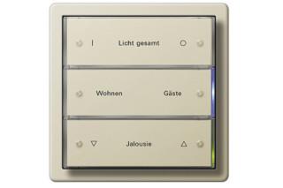 F100 sensoric button 3, 3fold  by  Gira