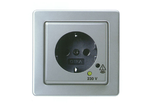 High-Grade Steel Range series 21 socket / overvoltage protection