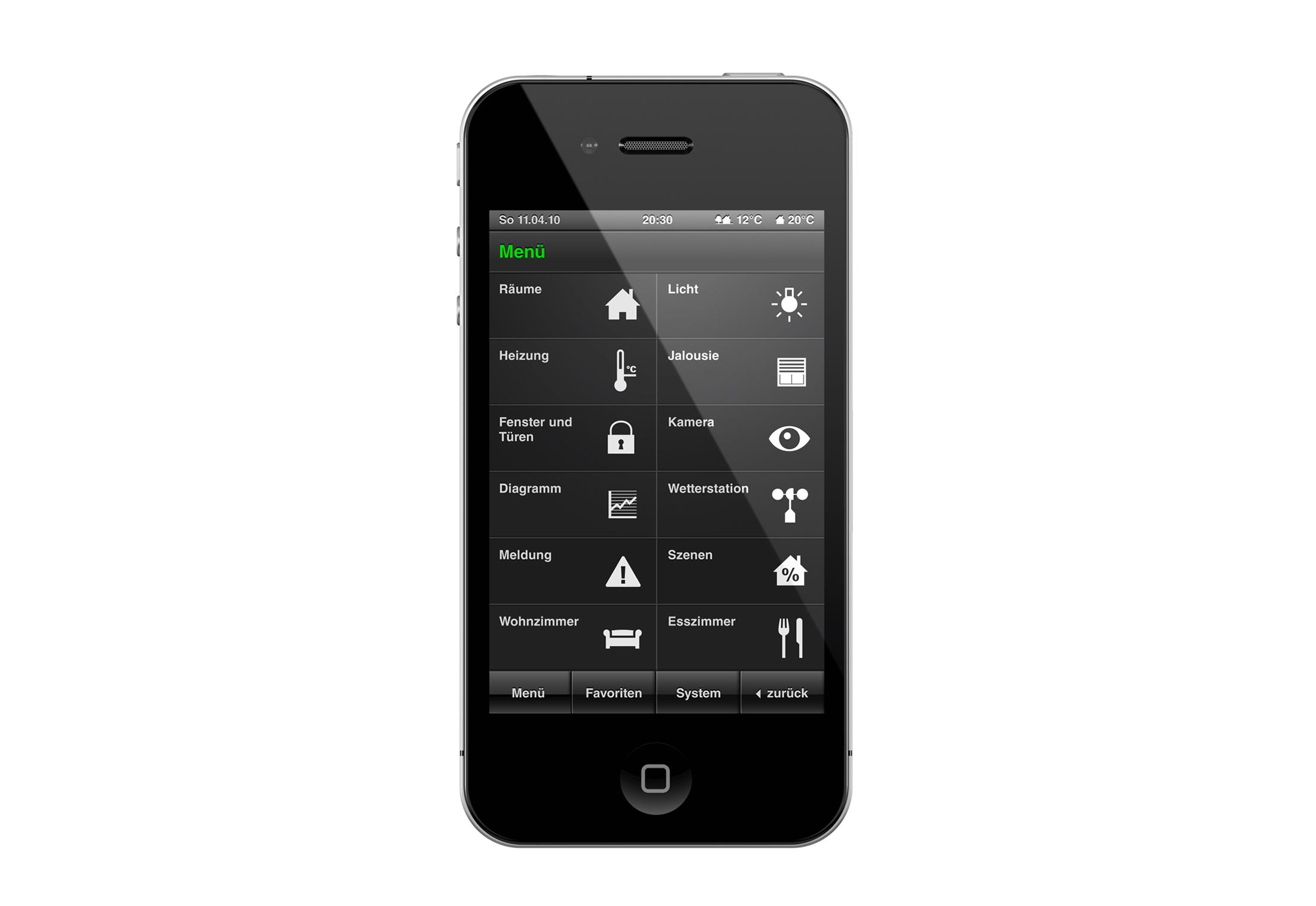 homeserver apps von gira stylepark. Black Bedroom Furniture Sets. Home Design Ideas
