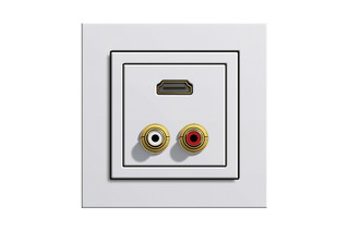 Multimedia socket  by  Gira
