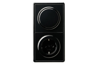 S-Color switch / socket  by  Gira