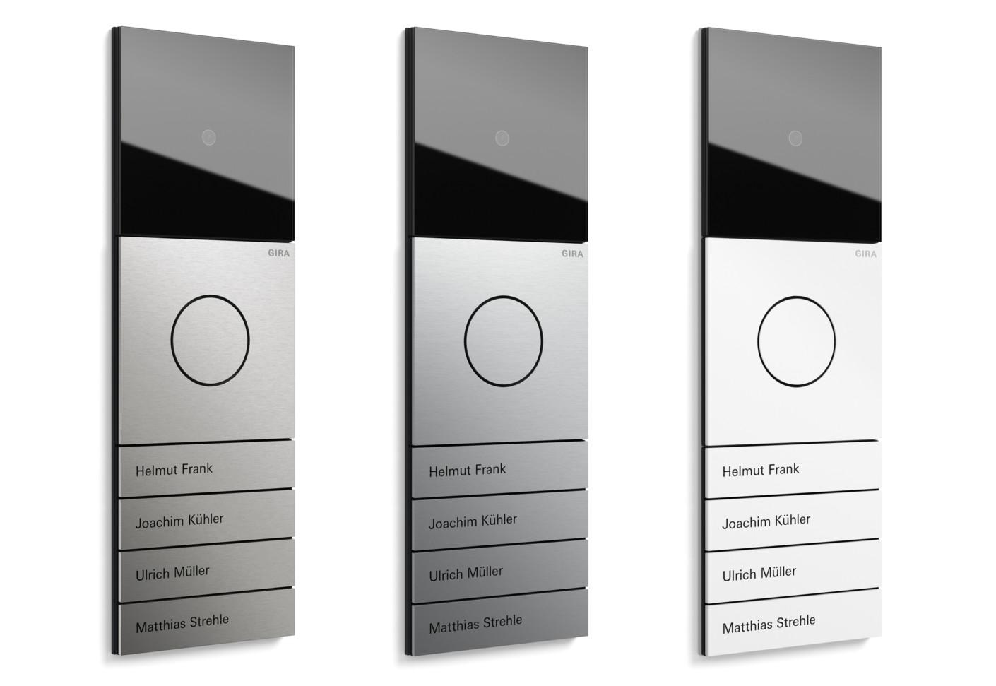 system 106 von gira stylepark. Black Bedroom Furniture Sets. Home Design Ideas