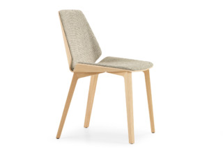 Pala with wooden legs  by  Girsberger