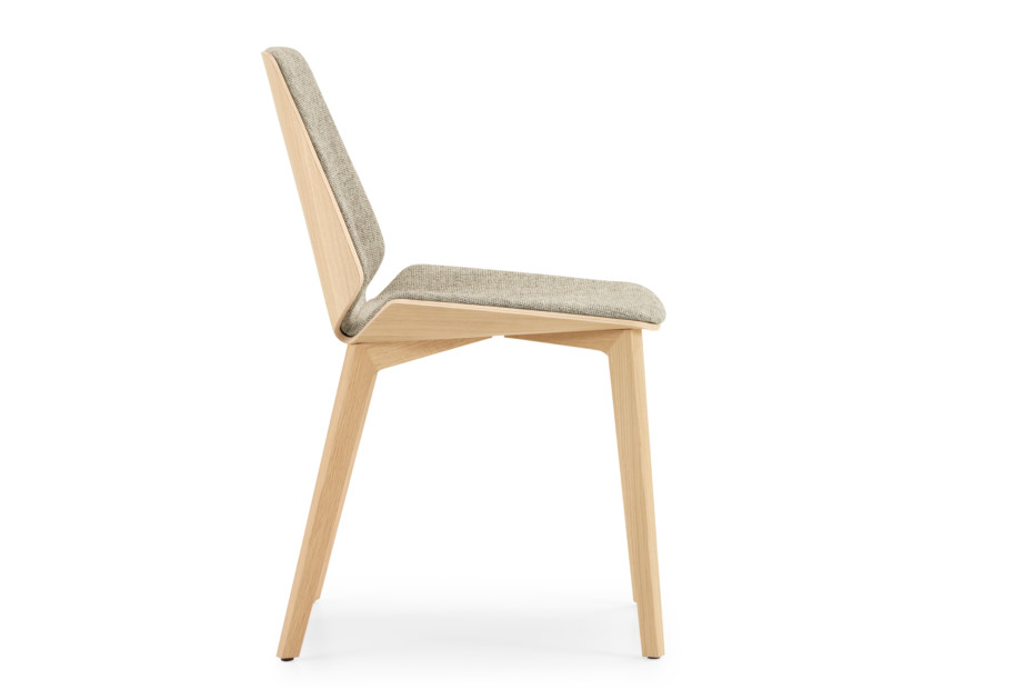 Pala with wooden legs