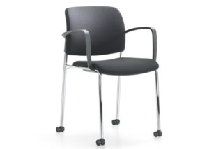 Yanos chair with armrests  by  Girsberger